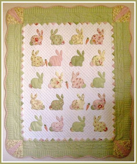 Bunny Quilt Patterns Free by 1000 Images About Bunny Applique Patterns On