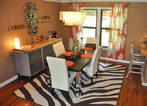 Curtain Ideas For Dining Room Curtain Ideas Brown And Orange Orange Things Ideas About Orange Blinds On Blue