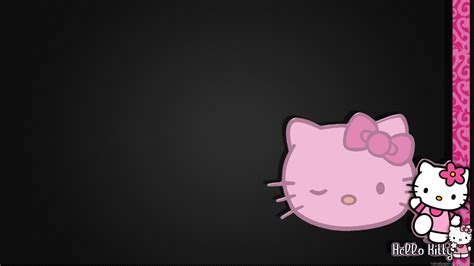 theme hello kitty for desktop hello kitty black 592392 walldevil