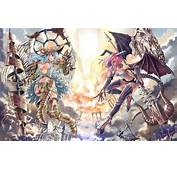 Wallpaper Fight Girl Art The Demon Anime Angel Images