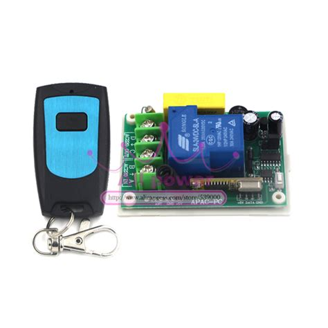 outdoor remote control light switch outdoor 200m long distance rf wireless remote control