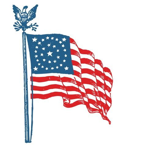 american flag clipart american flag clipart free stock photo domain