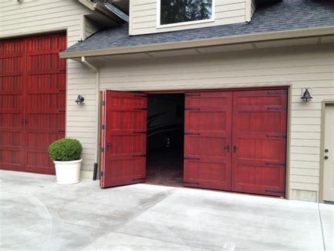 large bi fold garage doors carriage door design   Non
