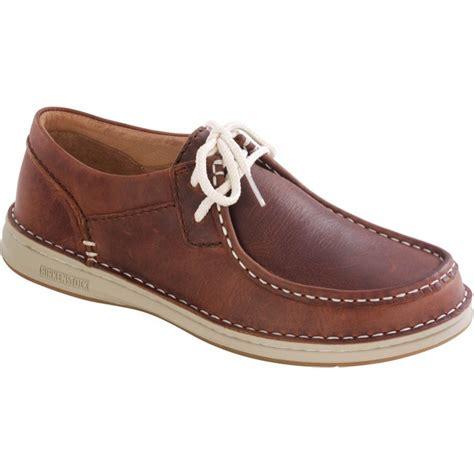 birkenstock pasadena shoes brown grey pull up