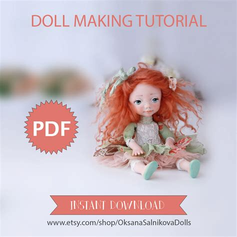 doll tutorials doll tutorial instant pdf guide doll book