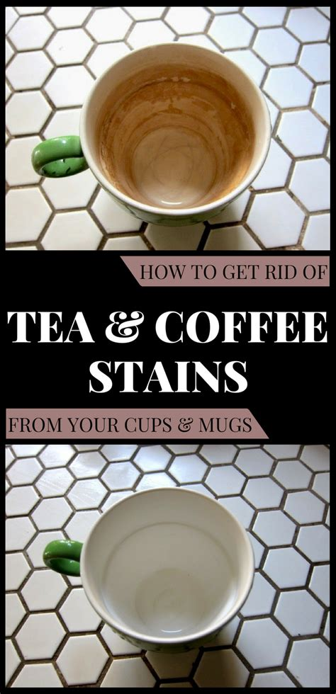 how to get rid of tea and coffee stains from your cups and mugs 101cleaningtips net
