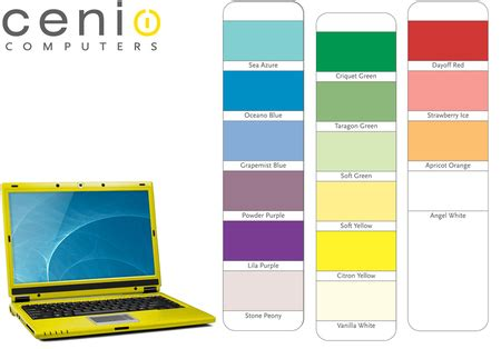 Cenios Gold Metallic M1550 Laptop by Cenio Metallic Gold M1550 Laptop For A Bright Change