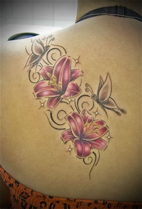 butterfly and lily tattoo designs collection of 25 3d butterflies tattoos