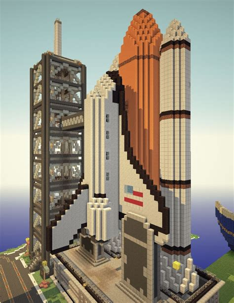 craft sts sts space shuttle minecraft project