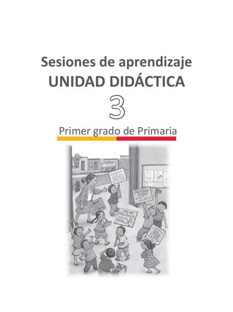 unidad de aprendizaje de personal social de segundo grado de primaria 2016 orientaciones y recomendaciones para el uso de la unidad