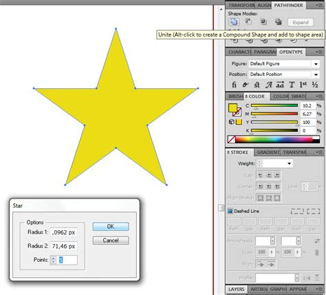 reset star tool illustrator shapes star tool not working properly in illustrator