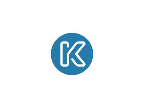 k line logo design monogram on inspirationde