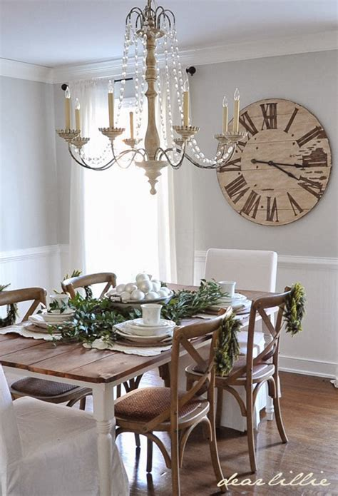 Dining Room Decorating Ideas 2013 20 rustic christmas decoration ideas style motivation