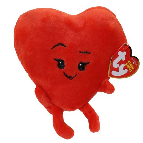 heart film emoji ty beanie baby the emoji movie heart 6 inch