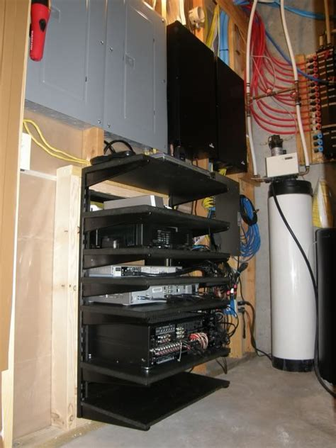 diy a v rack home theater racks home
