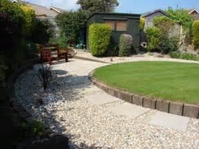 Maintenance Free Garden Ideas Railway Sleeper Edging Garden