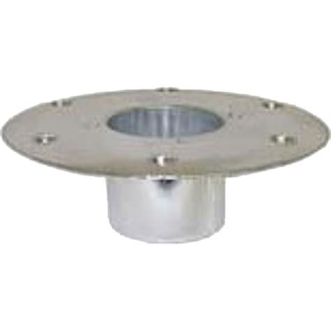 rv discount suppliers table pedestal base recessed mount
