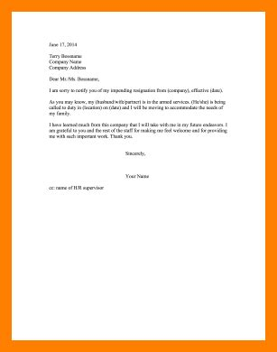 Resignation Letter For Due To Marriage 5 resignation letter due to marriage homed