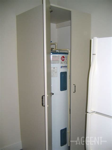 cabinet water heater cabinet to hide water heater nest hide