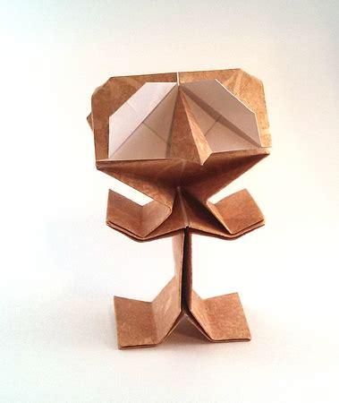 Origami Puppets - riki saito gilad s origami page
