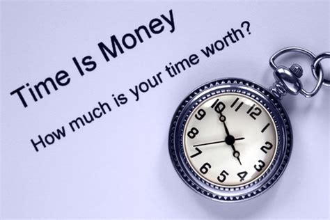 how much is a service time is money so how much is yours worth at your service
