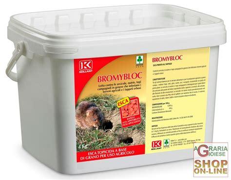 veleni fatti in casa kollant bromybloc veleno per topi grano per uso agricolo kg 4