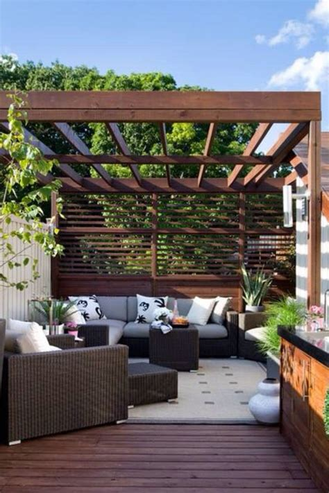 Pergola Screens by Deck Pergola Privacy Screen Woodworking Projects Amp Plans