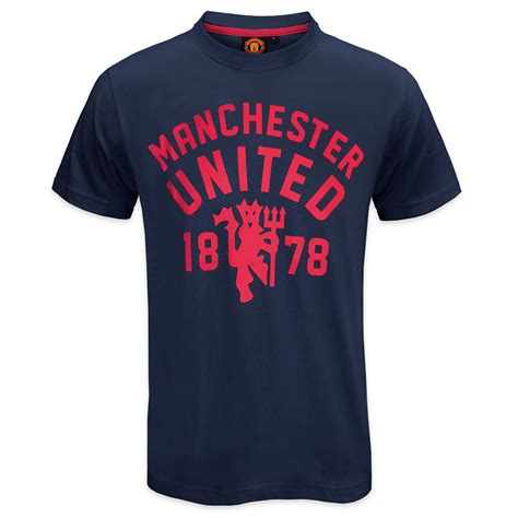 Tshirt Sablon United Manchester United Football Club Official Soccer Gift Mens