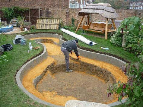 backyard pond construction garden pond design plans backyard pinterest gardens