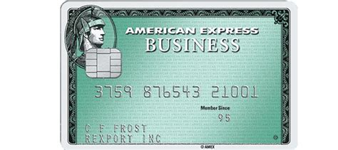 Employee Business Green Rewards Card