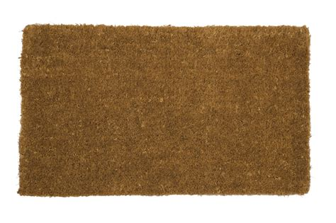 nayland hand woven natural coir doormat traditional scraper entrance floor mat ebay