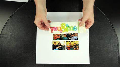 video layout ideas beginner scrapbook tutorials part 1 creating your