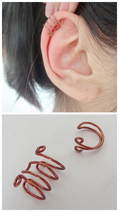 diy ear cuff 20 exles of amazing diy wire projects
