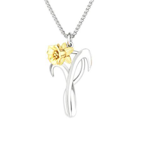 jewelry uk daffodil pendant brian fulton
