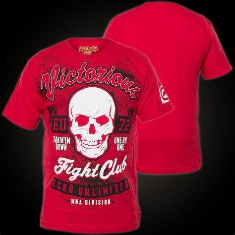 Tshirt Ufc Fight Abu Fightmerch ecko unltd mma t shirt fight club shirt with a large highly detailed print