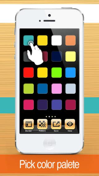color code custom wallpaper create and design graphics to organize yr device on the app store