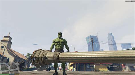 mod gta 5 pc hulk gta x scripting gta v pc hulk script mod