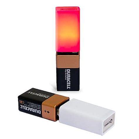 the mathmos 9v battery light