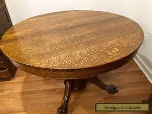 antique victorian large oak round dining table with claw large rattan dining room table circa 1970 for sale at 1stdibs