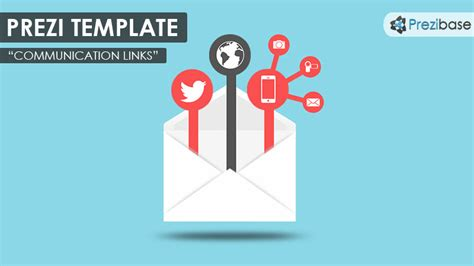 Communication Links Prezi Template Prezibase How To Choose A Template On Prezi Next