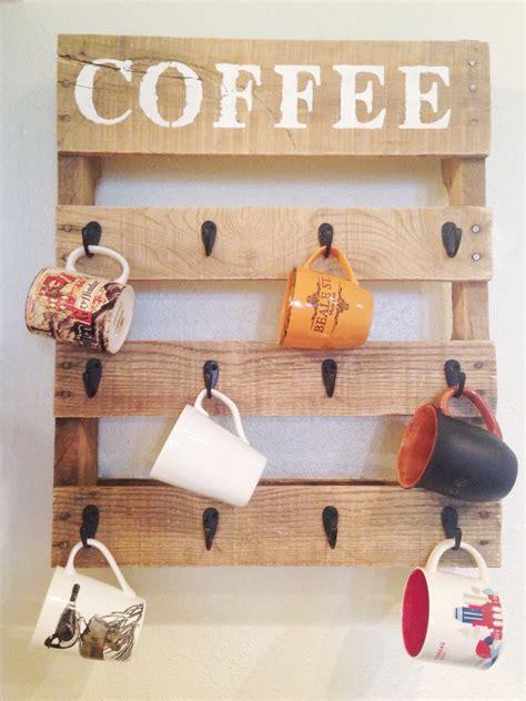 Trabajos Manuales En Madera #3: Diy-pallet-coffee-rack.jpg