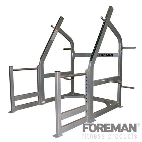 Fitness Gear Squat Rack by Foreman Fitness Squat Rack