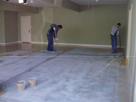 Concrete Floor Finishes Do It Yourself