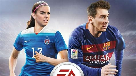 alex and messi alex to appear on the cover of fifa 16 soccer