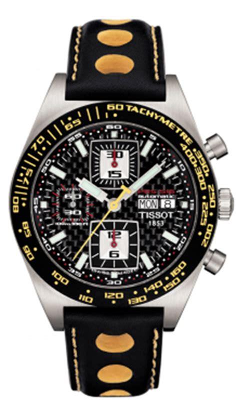 Tissot Sport Yellow Black Leather t91142781 tissot prs516 automatic chronograph mens