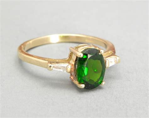 light green gemstone ring green gemstone rings www imgkid com the image kid has it