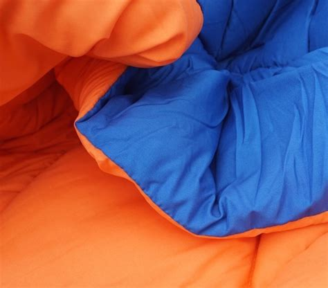blue orange reversible college comforter twin xl cool