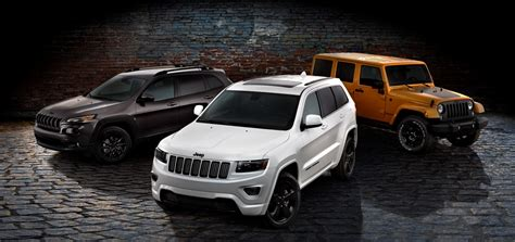 blacked out jeep jeep launches blacked out altitude special editions