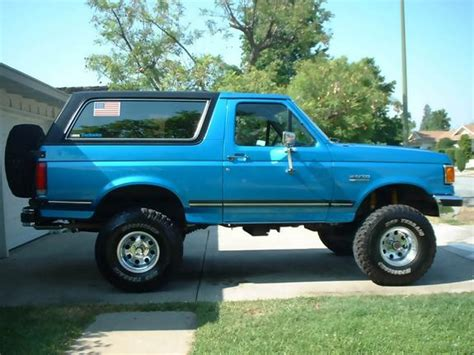 blue book used cars values 1990 ford bronco ii windshield wipe control 1990 ford bronco blue 200 interior and exterior images