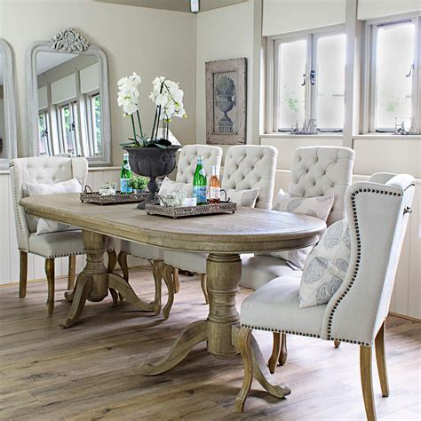Dining Table by Belmont Oval Dining Table La Residence Interiors